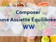 Composer une Assiette Équilibrée WW