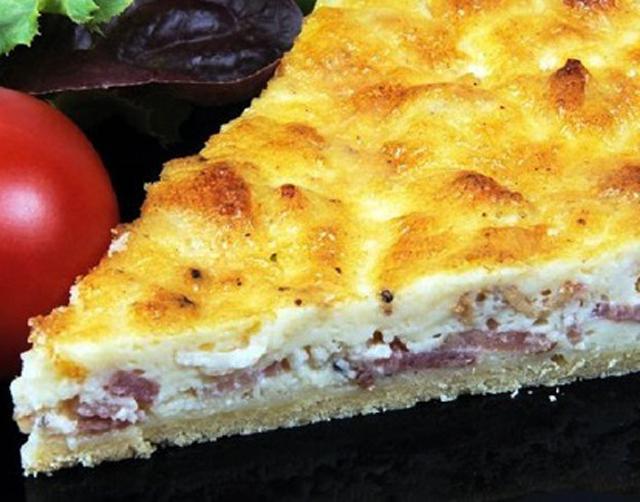 Quiche sans pâte aux fromages WW