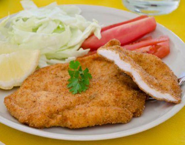 Escalopes de poulet panées et croustillantes WW
