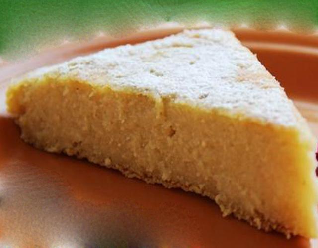 Gâteau de semoule léger à la vanille WW