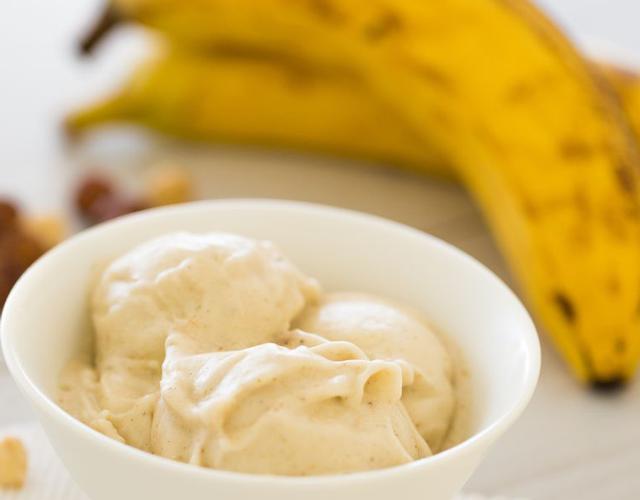 Glace à la banane légère WW