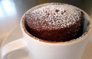 Mug Cake Chocolat Léger WW