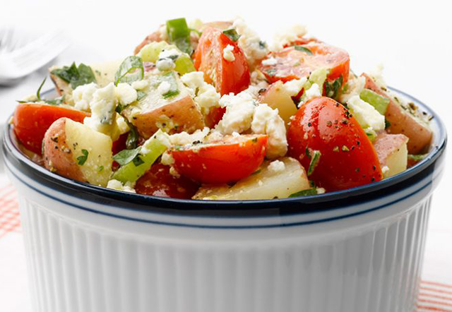 Salade de pomme de terre aux tomates cerises WW