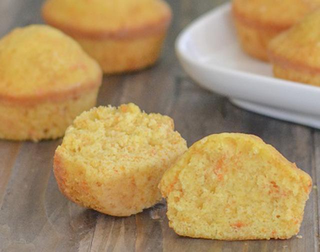 Muffins aux carottes et oranges WW