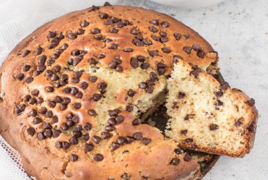 Gâteau léger aux pépites de chocolat WW
