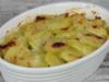 Gratin léger de pommes de terre et parmesan WW