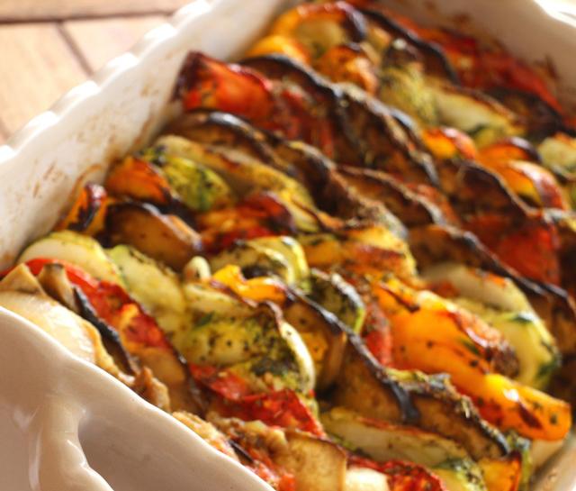 tian de légumes WW