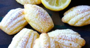 Madeleines au citron et vanille WW