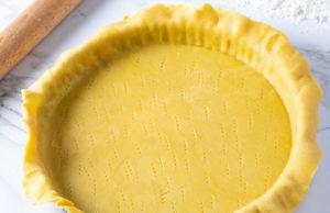 Pâte brisée sans beurre sans huile