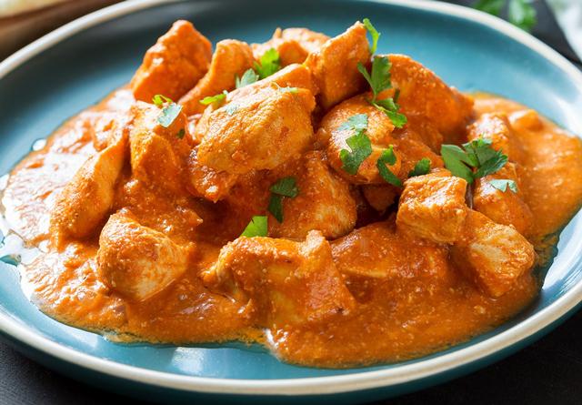 Poulet au curry et lait de coco ww