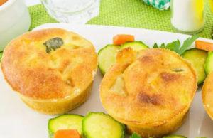 Muffins aux courgettes et carottes