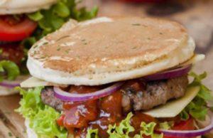 pancakes burger ww